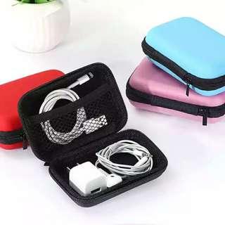 耳機充電器迷你收納整理硬盒