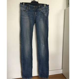 Nobody Denim Straight Leg Jeans (Size 26)
