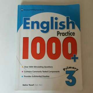 FIXED PRICE📬Primary 3 English Practice 1000+ Assessment Book