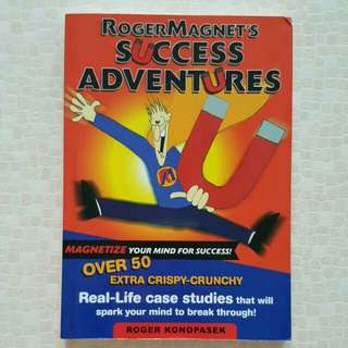FIXED PRICE📬Roger Magnet's Success Adventures Book