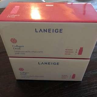 BNIB Laneige Collagen Drink X 2 boxes