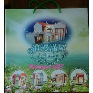 Full House 浪漫滿屋 -『GTV官方造型燈』(全新品/附贈禮)~宋慧喬、Rain鄭智薰、韓銀貞、金聖洙、李令恩