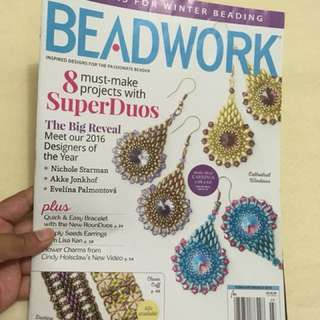 Beadwork Feb/Mar 2016