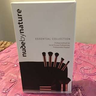 NBN Essential collection brush set with case BRAND NEW
