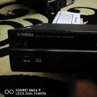 Yamaha bd-a1010 3d bluray player