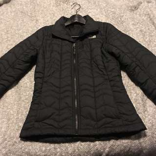 North face jacket xs