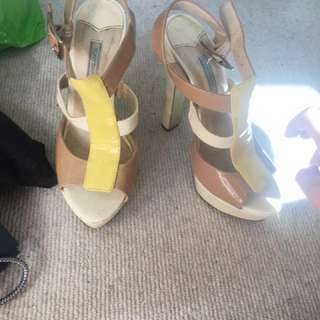 Tony Bianco Heels size 7