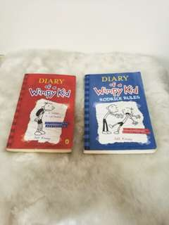 PAIR 1: DIARY OF A WIMPY KID