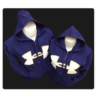 COUPLE UNDER ARMOUR HOODIES .