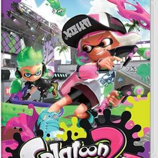 WTS / WTT Splatoon 2 (Nintendo Switch)