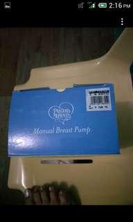 Preloved Manual breast pump