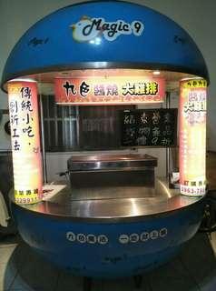 造型烤爐設備攤車
