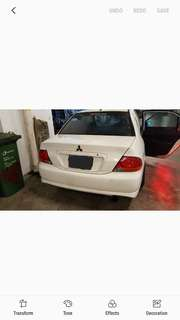 Mitsubishi Lancer CS3 parts for sales