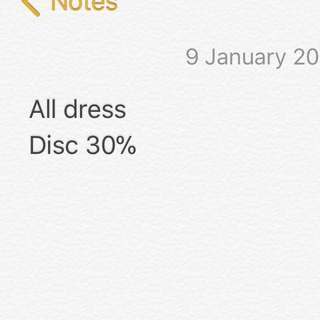 All dress disc