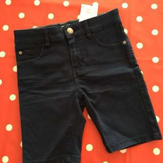 New H&M shorts dark blue