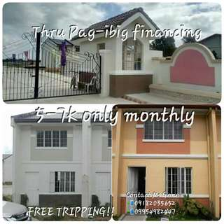 Rent To Own House And Lof Thru Pag Ibig!!!