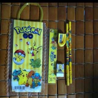 Instocks cute pokemon stationary set