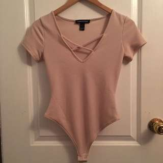 Nude/Light Pink Bodysuit