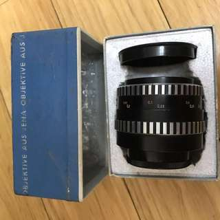 Carl Zeiss Jena Flektogon 35mm 2.8 Zebra M42 Mount with original Box