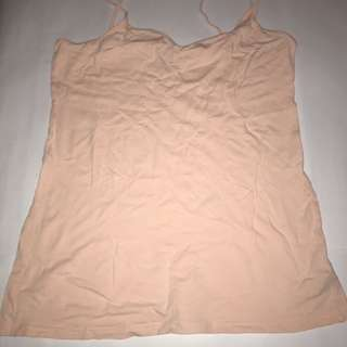 Forever 21 Light Peach Camisole Top