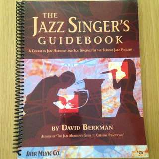 Music Jazz Singing Book