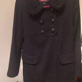Eland navy long coat