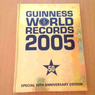 Guinness World Records 50th Anniversary
