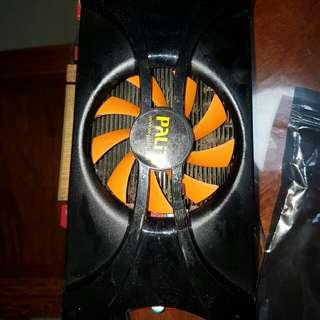 $65 only!!! Palit Gtx 460 Sonic 1gb GDDR5!