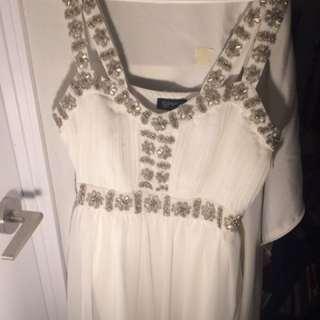 topshop elegant dress size 8