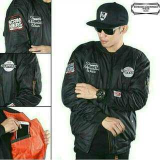 Jaket bomber anti air