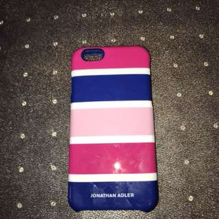 Blue and pink iPhone 6, 6s case