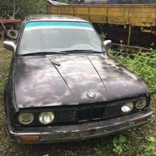 BMW 古董 1989年 有牌照 可驗車