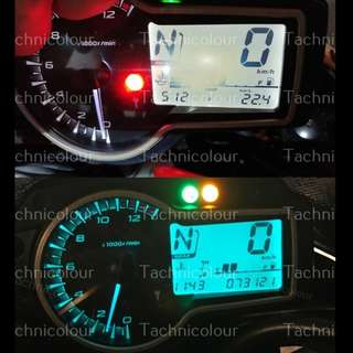 SPEEDO COLOUR CONVERSION Motorcycle Motorbike   Speedometer   color   change   meter   lcd   digital
