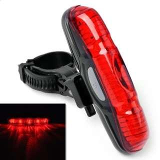 5 LED 3 Mode Safety Rear light (XJ-2212)