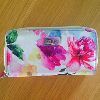 Watercolour Floral Wallet