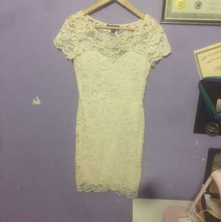 Lace Fit dress