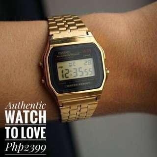 Authentic Casio Gold Vintage watch