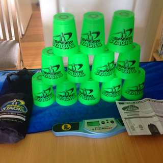 Speed stacking beginners kit