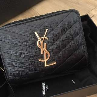 Authentic Saint laurent wallet