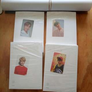 BTS LOVEYOURSELF O AND E WITH POSTERS