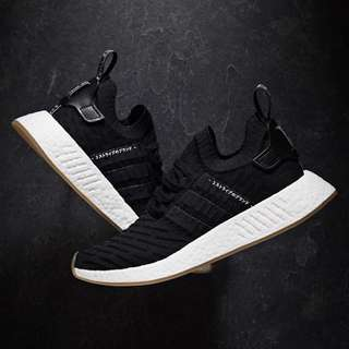 8fed53ab8a3f3 ADIDAS NMD R2 Japan Core Black BY9696 Size 9.5US