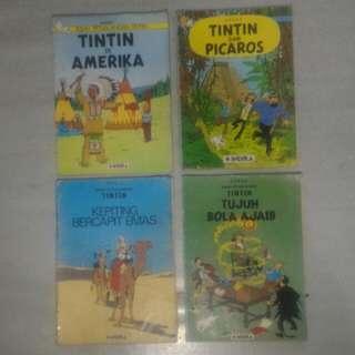 Buku Serial TINTIN