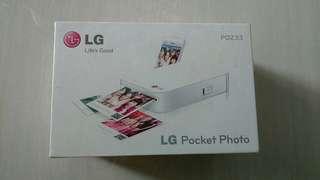 BNIB LG Pocket Photo Printer PD233