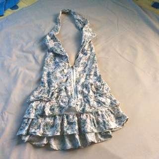 Haltered Style Skirt Dress #OnlineGarageSale