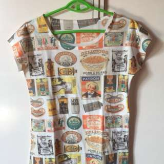 Printed Vintage tshirt