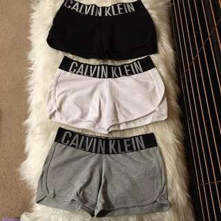 CALVIN KLEIN Fitted Logo Shorts