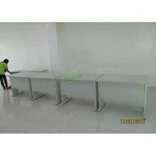 HV OFFICE TABLE SET WITH MOBILE PEDESTAL CABINET--KHOMI