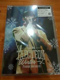 Taecyeon (From 2PM) Premium Solo Concert Winter Hitori DVD (Blu Ray)