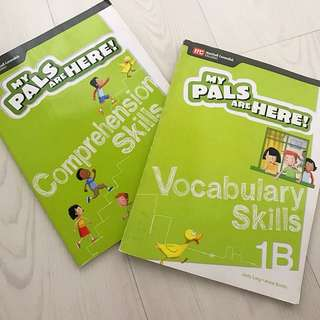 Vocabulary and comprehension books for Primary 1