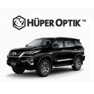 Kaca Film Huper Optik untuk Toyota Fortuner (Diskon)